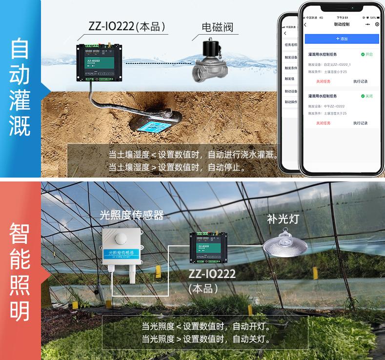 自动灌溉,智能照明,网络继电器,远程控制,io控制器,